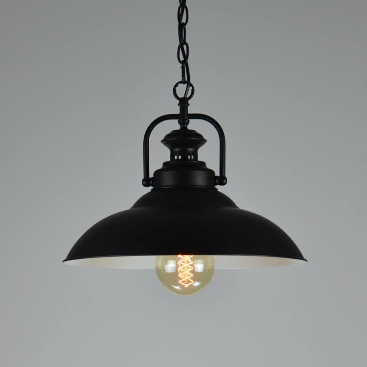 Loft Bar Black Iron American Vintage Retro Pendant Light Dining Room Mini Outdoor Hanging Foyer Industrial