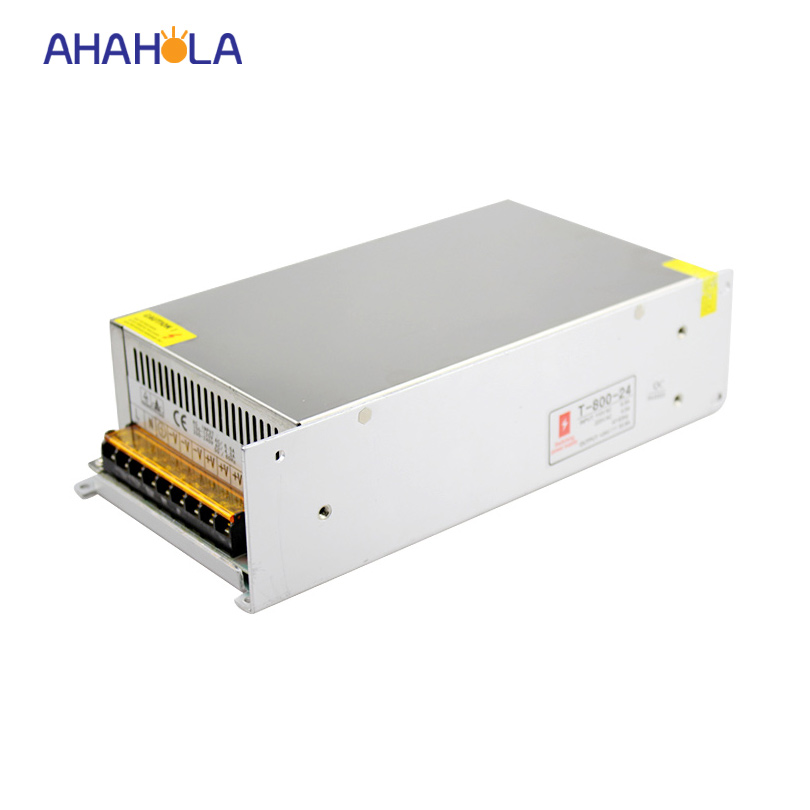 switching transformer ac 110v 220v to 12v 24v dc power supply,output dc 12v 24v 800w power supply led lights