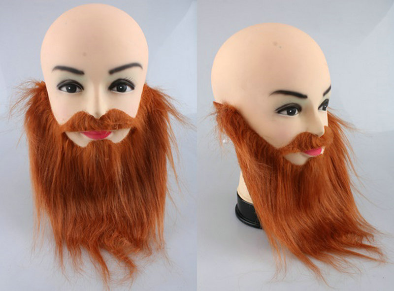 Party Diy Decorations Event & Party Fancy Dress Fake Beards Halloween Costume Party Moustache Black Halloween For Pirate Dwarf Elf James Harden Cosplay Dc112
