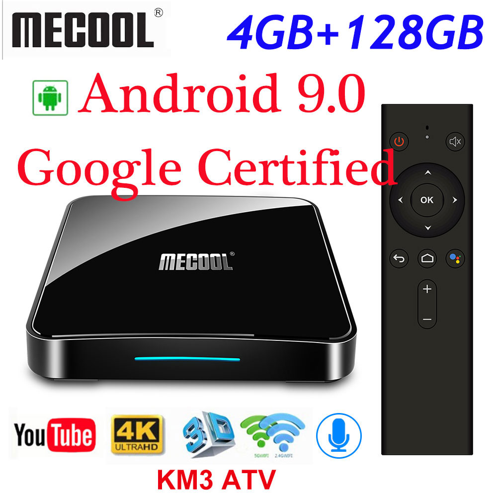 Original KM3 ATV Google Certified Androidtv TV Box Android 9.0 4GB 64GB S905X2 Voice Control 2.4/5G Wifi Streaming Media PlayerOriginal KM3 ATV Google Certified Androidtv TV Box Android 9.0 4GB 64GB S905X2 Voice Control 2.4/5G Wifi Streaming Media Player