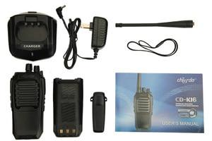 Image 5 - Самая дешевая цена двухстороннее радио Chierda ручной высокое качество woki toki 10 км CD K16 рация FRS/GMRS K16