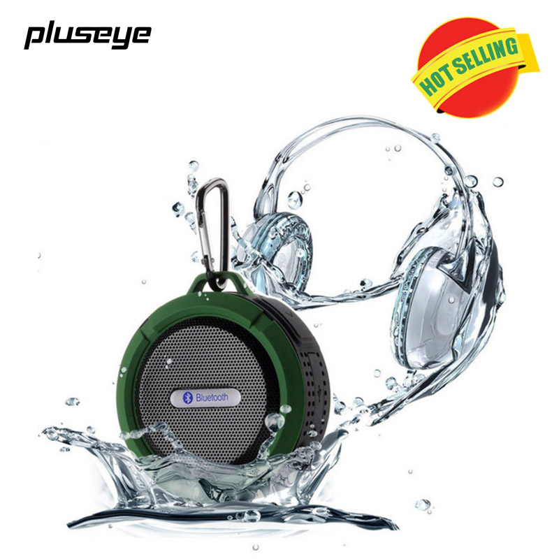 Pluseye Outdoor Bluetooth Speaker Subwoofer With Suction Cup for iPhone