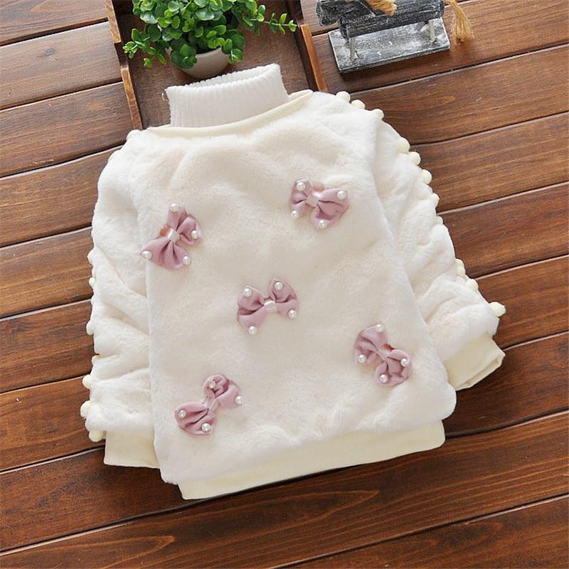BibiCola Baby Girl Sweater Қысқы балалар Bebe - Балаларға арналған киім - фото 5