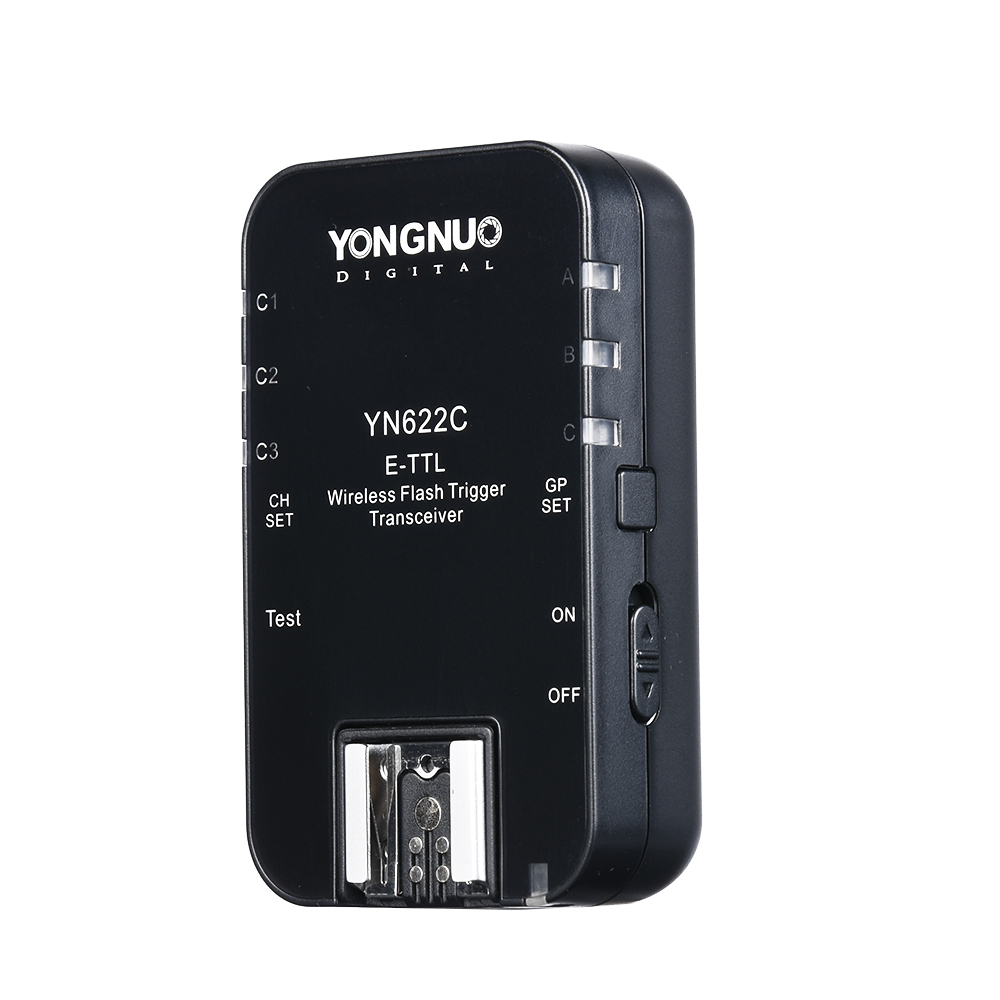 Prix pour Yongnuo YN 622C, YN-622C Sans Fil TTL HSS 1/8000 S Flash Trigger Émetteurs-récepteurs pour Canon 1100D 1000D 650D 600D 550D 7D 5DII 50D