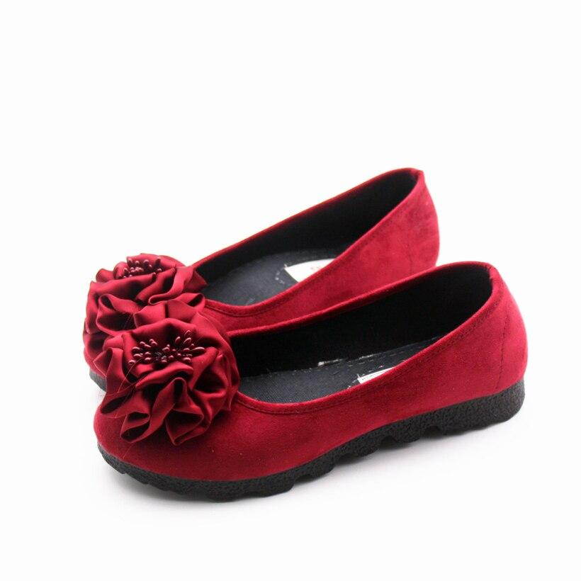d c Lady Floral Femmes Cresfimix Plates Troupeau Casual Sur Mode A Printemps Glissement Mujer Mignon Confortable Zapatos Des De Chaussures b RPwqPzH4n