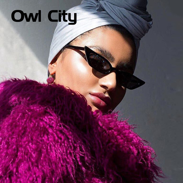 Vintage Sunglasses Women Cat Eye Luxury Brand Designer Sun Glasses Retro Small Red ladies Sunglass Black Eyewear oculos 5