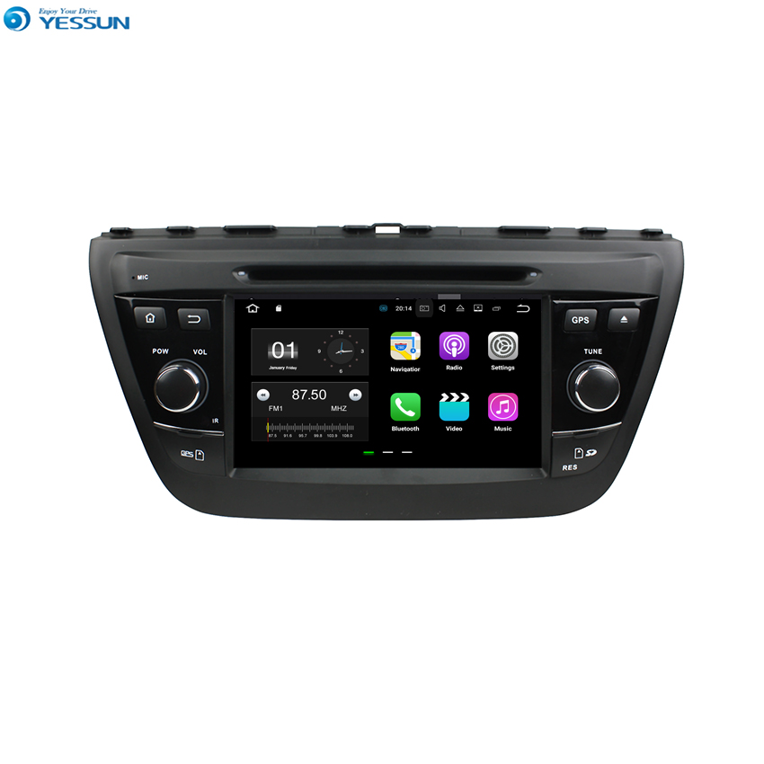 YESSUN For Suzuki SX4/S Cross 2014~2015 Android Car Navigation GPS Audio Video Radio HD Touch Screen Stereo Multimedia Player.
