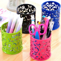 Pen Holder Makeup Brush Vase Pattern Brush Pot Pen Holder Stationery Storage 1PC
