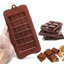 TTLIFE 24 Cavity Cake Bakeware Kitchen Baking Tool Silicone Mold Chocolate Candy Maker Sugar Bar Block Ice Tray Decorating Mould