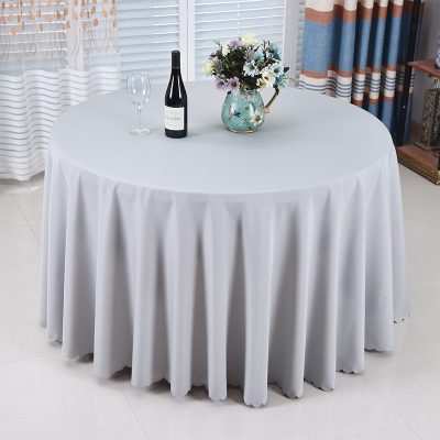 High Quality 10 Pieces 120 Inch White Polyester Round Tablecloth Linen  Banquet Table Linen Wedding Decoration DHL Free In Tablecloths From Home U0026  Garden On ...