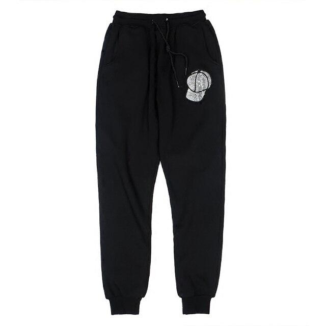 Casual pants female spring 2018 new Korean large code pants upon   pants female students who fall loose pants