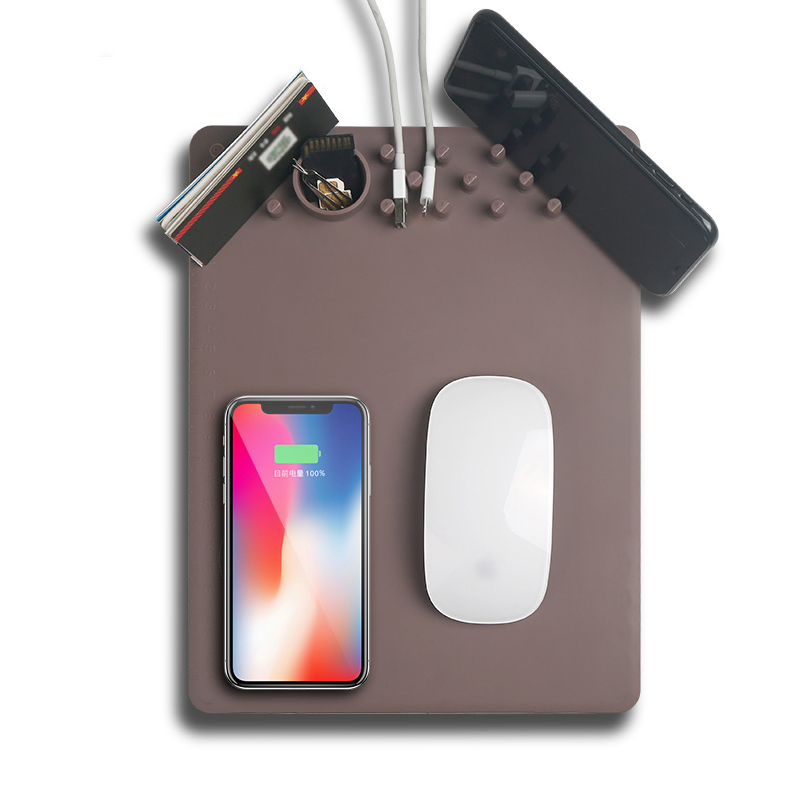 New QI Wireless Charging Mouse Pad Wireless Charger