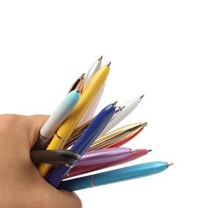 Image 4 - 14 pcs kawaii 볼펜 큰 다이아몬드와 큰 보석 금속 공 펜 파란색과 검은 색 마법의 펜 패션 학교 사무 용품