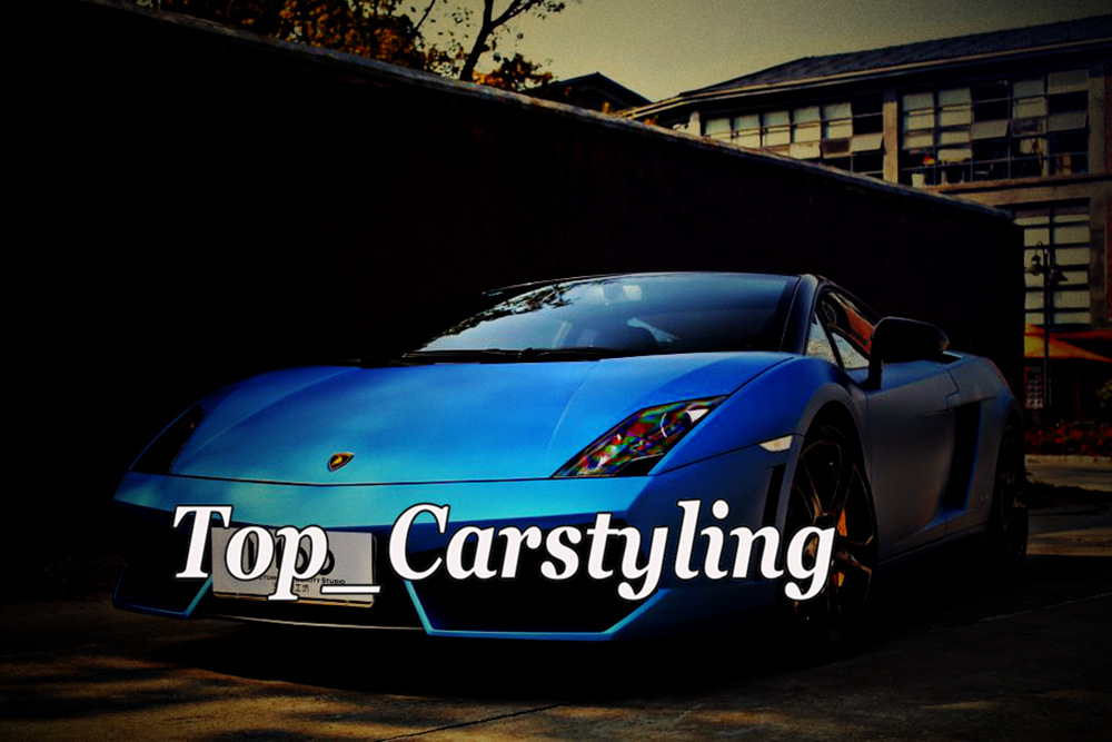 PEARL MATTE BLUE CAR WRAPPING FILM WRAPPING FOIL (2)