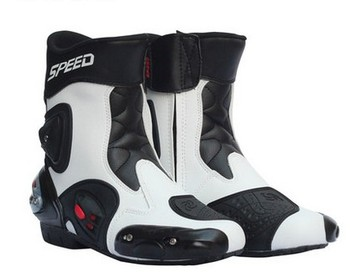 Pro-biker automobile race ride shoes medium motorcycle boots automobile race boots motorcycle shoes windproof waterproof boots