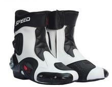 Pro-байкер автопробег езды обувь среднего мотоцикла сапоги автопробега сапоги мотоцикла ботинки ветрозащитный непромокаемые сапоги