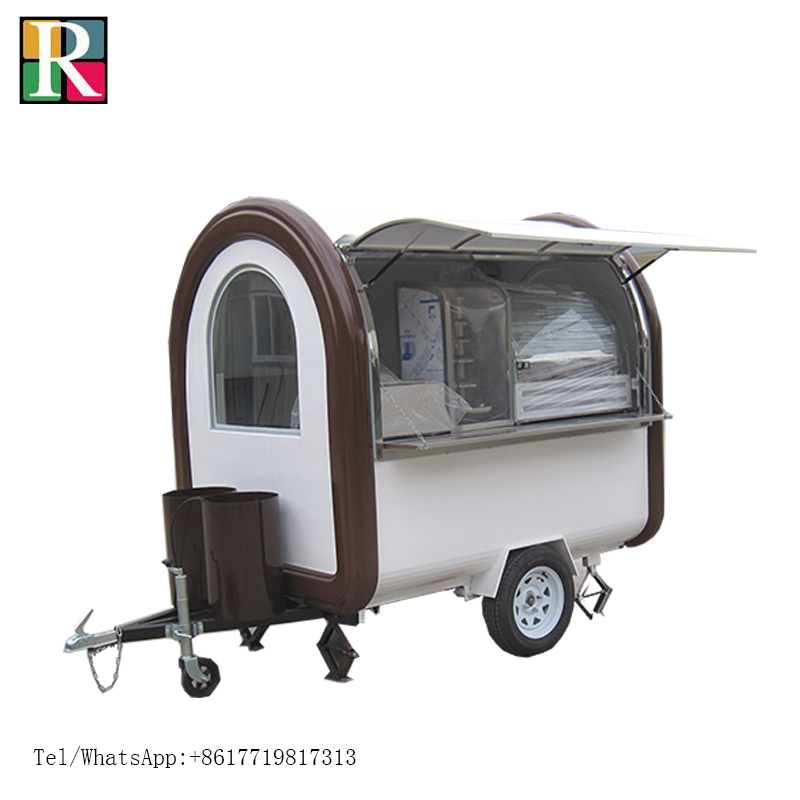 10% discount !220*160*210cm Hot sale High quality food trailer mobile food cart fast food truck by sea to port|Food Processors| |  - title=