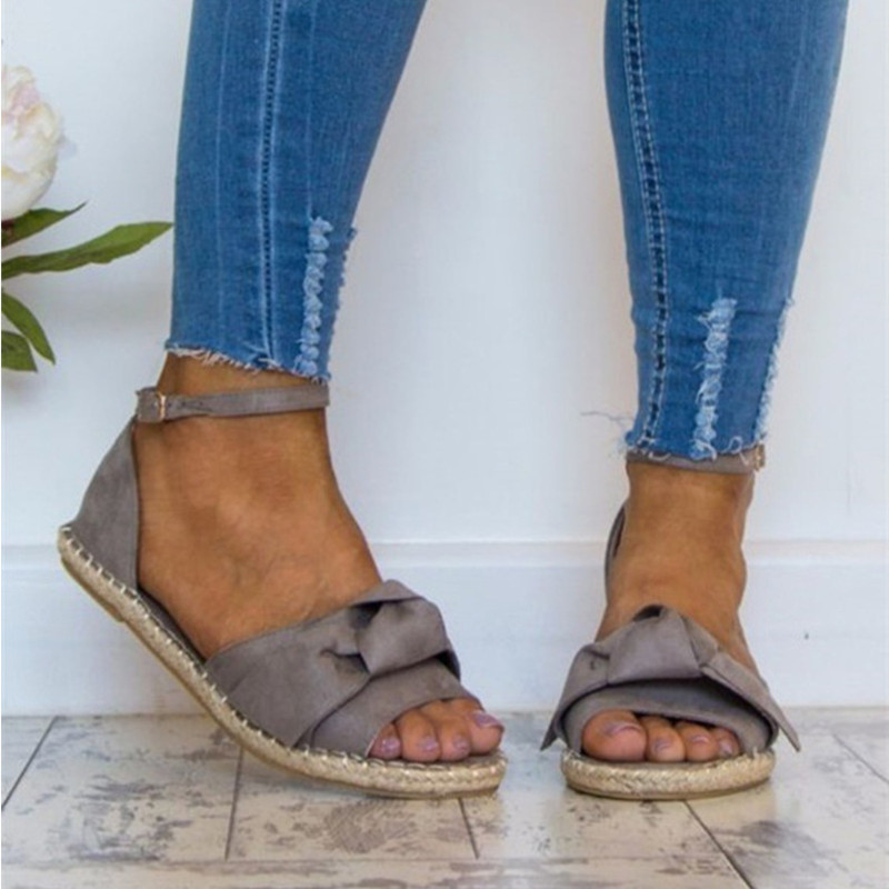 Womens Sandals Flats Sandals For 2018 Summer Shoes Woman Peep Toe Casual Shoes Low Heels Sandalias woman Mujer Plus Size 35-44 women sandals fashion low heels sandals for summer shoes woman ankle strap flats sandals shoes soft bottom casual shoes 35 44