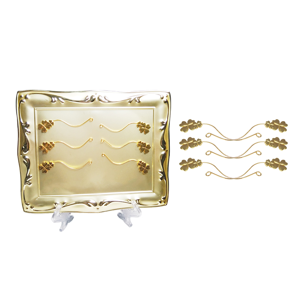 False Eyelash Style Display Board Eyelashes Grafting Extensions Auxiliary Tool Assistor with Magnet Eyelash Wearer GoldFalse Eyelash Style Display Board Eyelashes Grafting Extensions Auxiliary Tool Assistor with Magnet Eyelash Wearer Gold