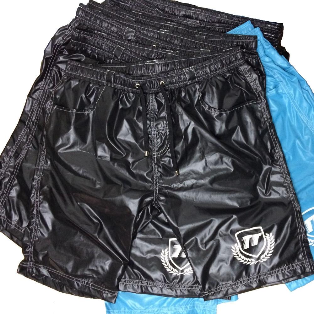 TQQT 4 Pieces/lot Mens Shorts Novelty Bermuda Special Shorts Elastic Waist Men Shorts Fitness Fashion Beidaihe Long Short 6P0603