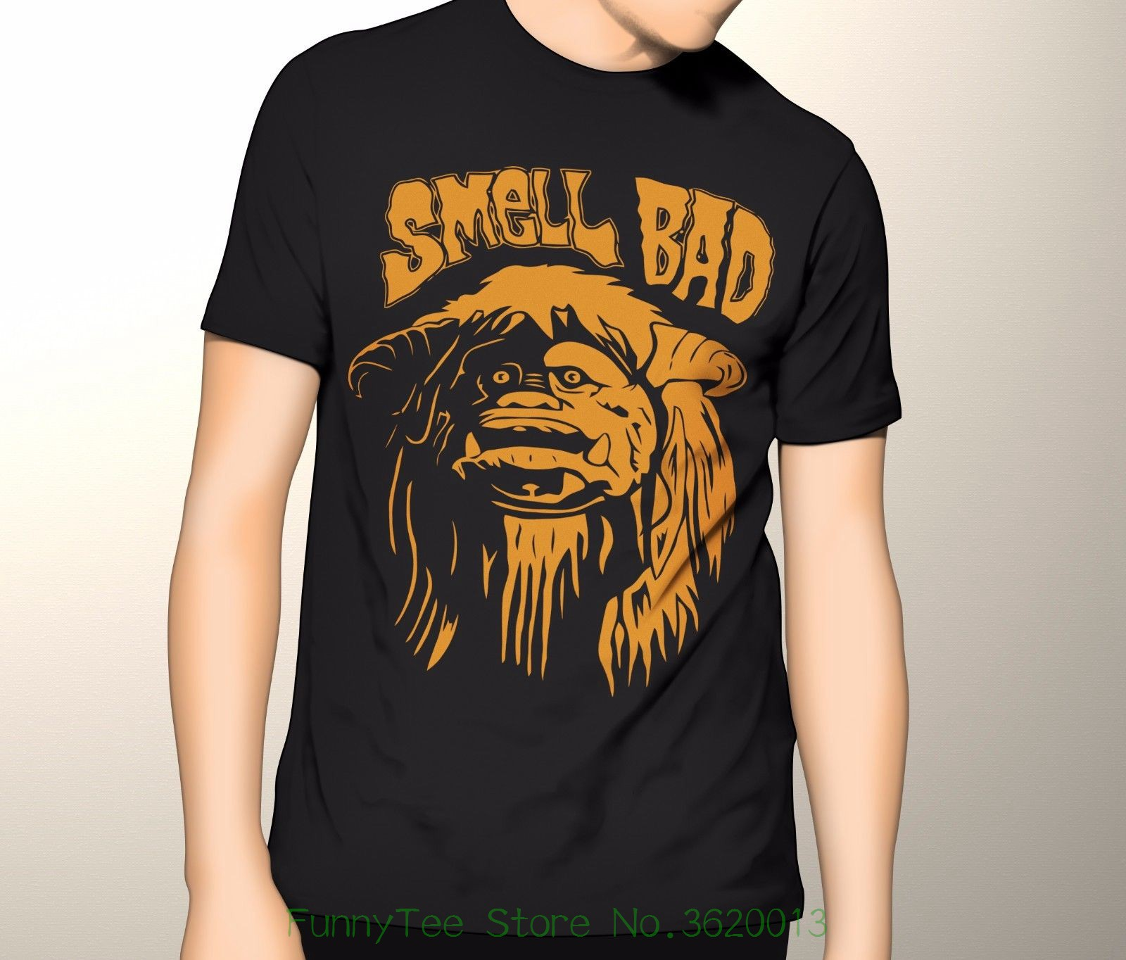 Labyrinth Shirt , Ludo Smell Bad Premium Graphic T-shirt S - 5xl