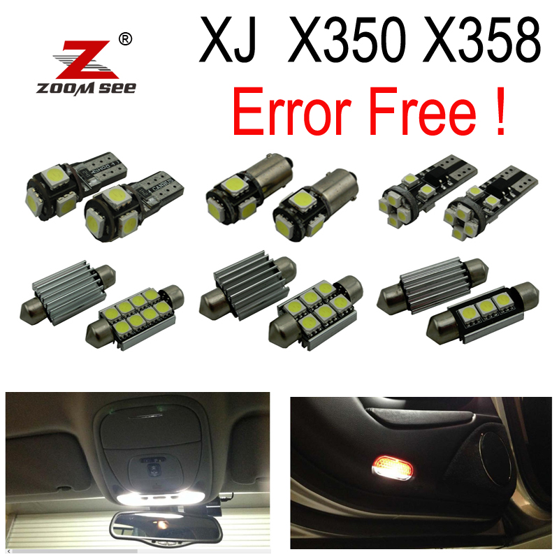 26pc x LED bulb Interior dome map reading trunk door Light Kit Package For Jaguar XJ X350 X358 XJ6 XJ8 XJR (2003-2009) 15pc x 100% canbus led lamp interior map dome reading light kit package for audi a4 s4 b8 saloon sedan only 2009 2015