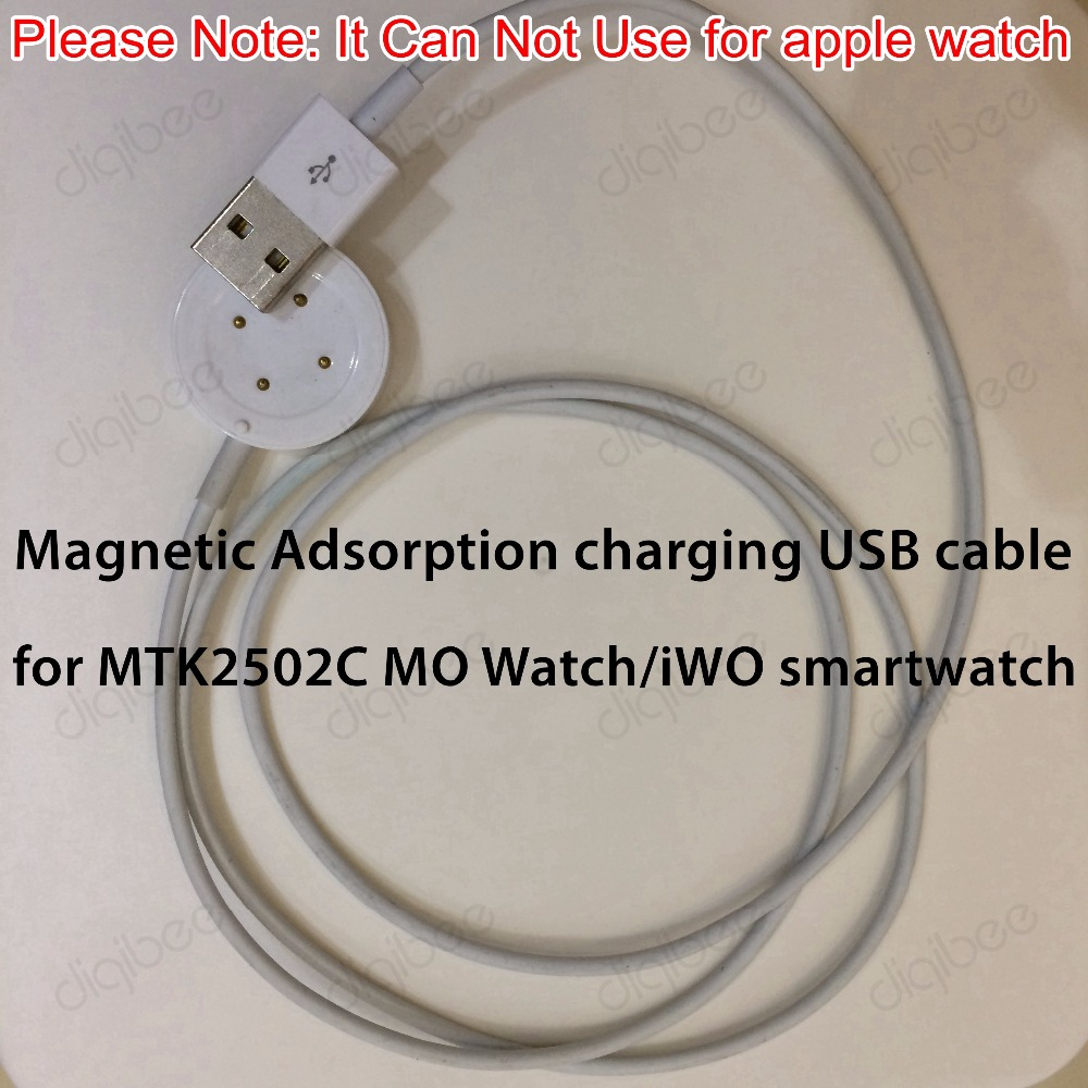 New Iwo Smart Watch Charger Cable Usb Data Charging For Buy 1 Get 7 Kabel Warna Warni Mar Cell Mtk2502c Note Can Not Use Apple In Accessories From