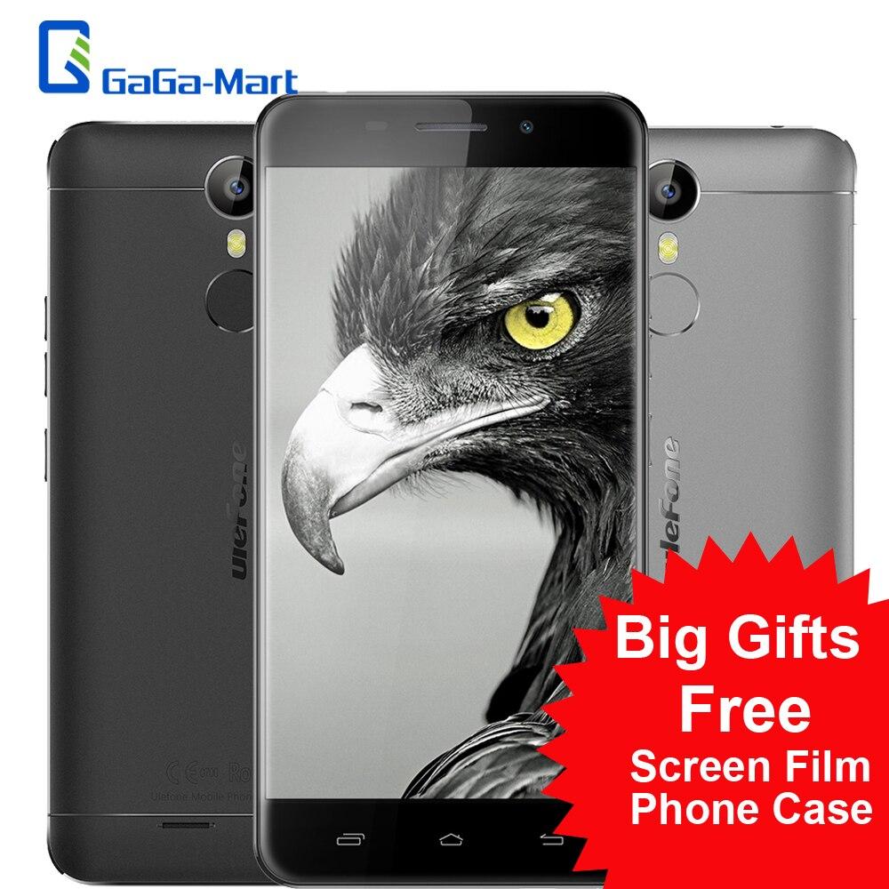 """Цена за Новый Ulefone Металл 5.0 """"4 Г Смартфон Android 6.0 MTK6753 Окта основные 3 ГБ + 16 ГБ 5MP 13MP Отпечатков Пальцев Разблокировать 5 Сенсорный IDs мобильный телефон"""