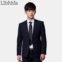 Jacket Pant Tie Men Formal Suits Luxury Wedding Suit Male Blazers Slim Fit Suits For