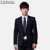 Jacket Pant Tie Men Formal Suits Luxury Wedding Suit Male Blazers Slim Fit Suits For