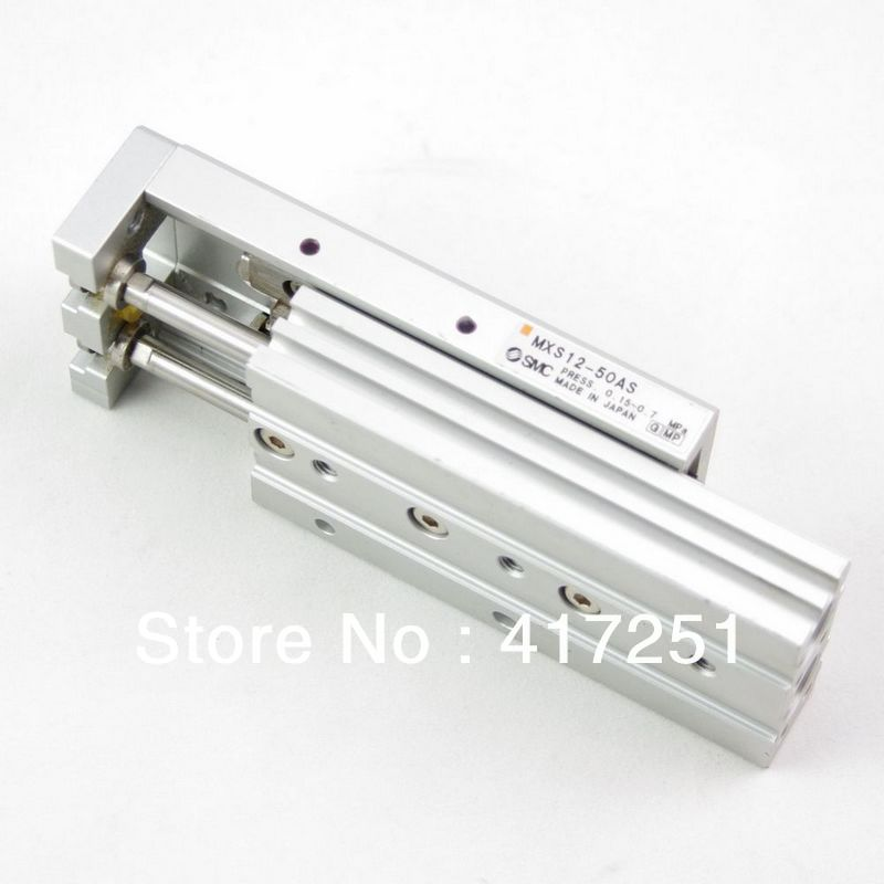 SMC Type Cylinder MXS 8-10AS Air Slide Table Double Acting 8mm-10mm Accept custom smc type air slide table cylinder mxs20 30as double acting