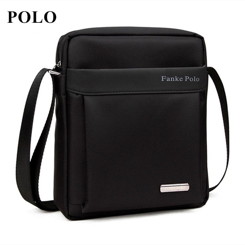 Brand POLO Men bag 2016 fashion mens shoulder bags, high quality oxford casual messenger bag business men's travel bags