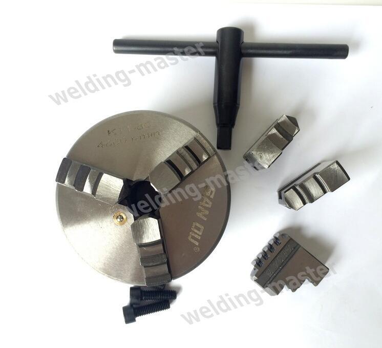 """Mandrin de tour manuel à 3 mâchoires K11 80 3 """"mandrin de tour 80mm accessoires de machine mandrin indépendant"""