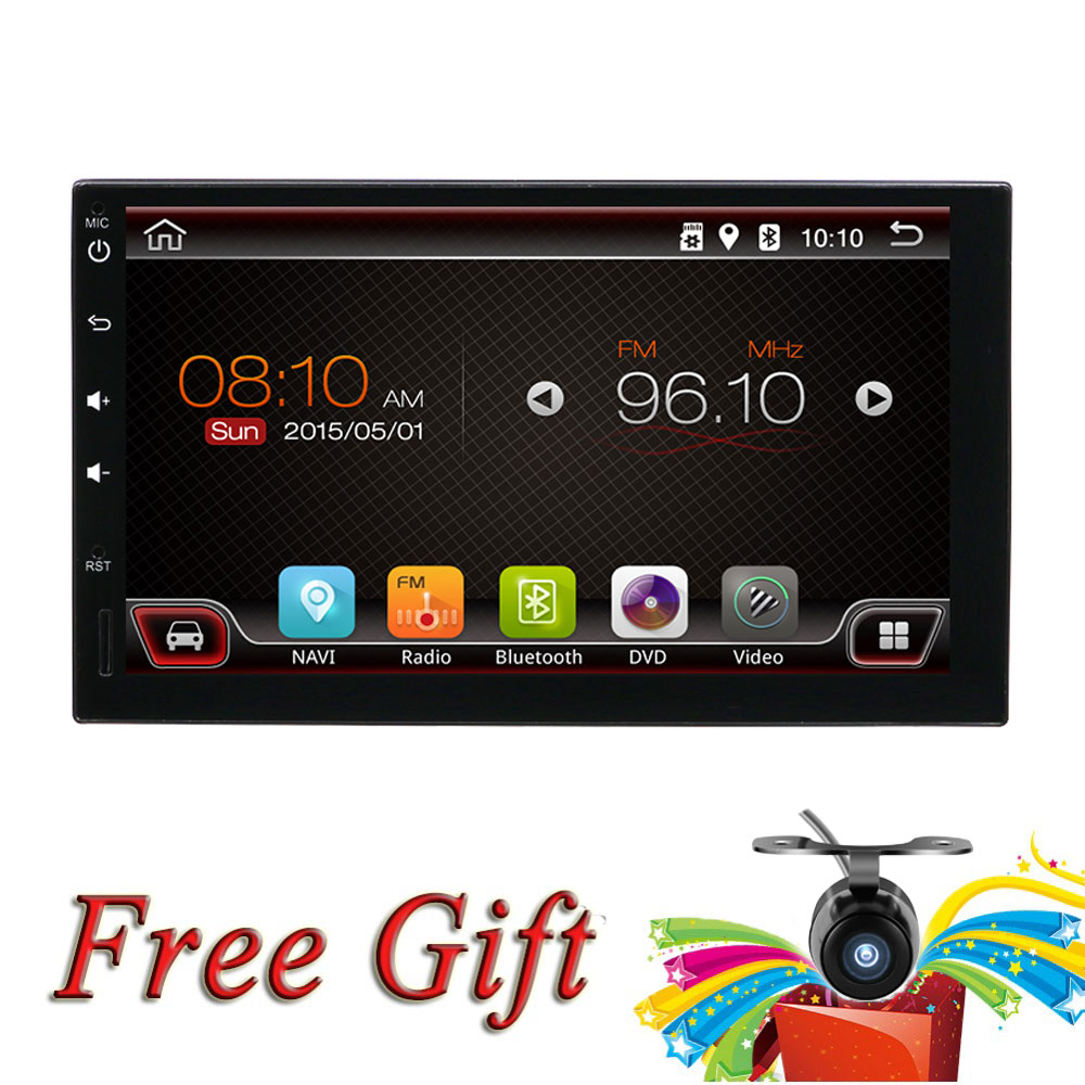 Car Multimedia Player Android 8 1 GPS 2 Din car Multimedia player for Universal wifi car