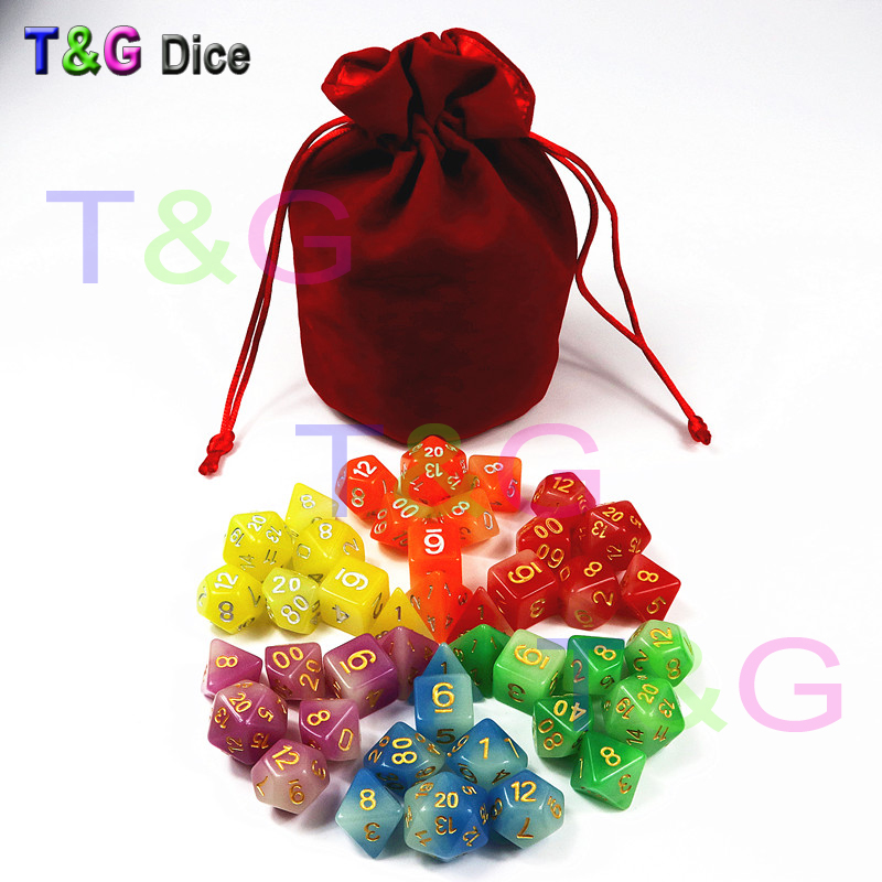 The Production Time Of New Glowing Dice Set Is About 20 Days We Will Ship Out Order In Milddle May 2018 Thank You