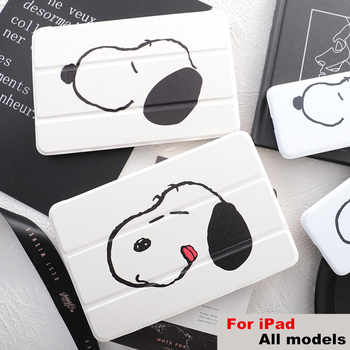 Dog Flip Cover For iPad Pro 9.7 11 air 10.5 10.2 7th 12.9 2020 Mini2 3 4 5 2019 Tablet Case cover for New iPad 9.7 2017 2018 - DISCOUNT ITEM  20 OFF Computer & Office