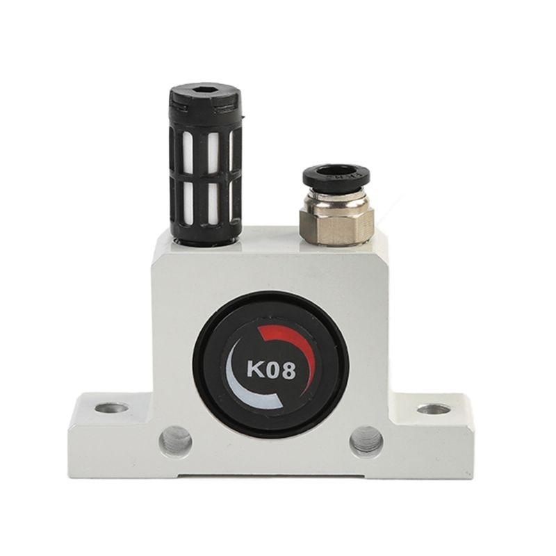 K8 Pneumatic Gear Vibrator Industrial Pneumatic Turbine Vibrators For Food Ingredient Bins Pharmaceutical