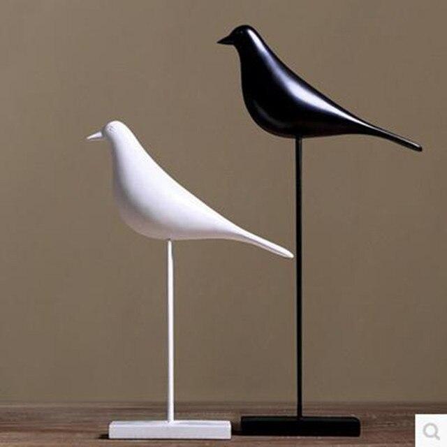 Европейский стиль птица, украшения дома искусства и корабль, украшения сада, творческий Птица статуя