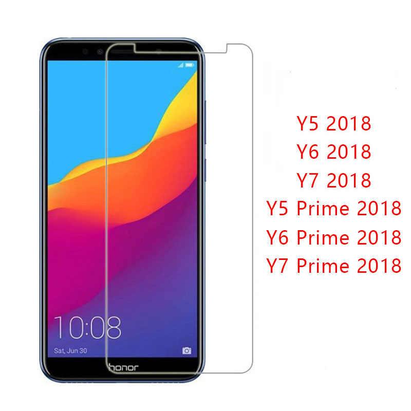 Vidro De proteção Para A Huawei Y5 Y6 Y7 Prime 2018 Glas Temperado No Y 5 6 7 5y 6y 7y y52018 Y62018 Y72018 Filme Protetor de Tela