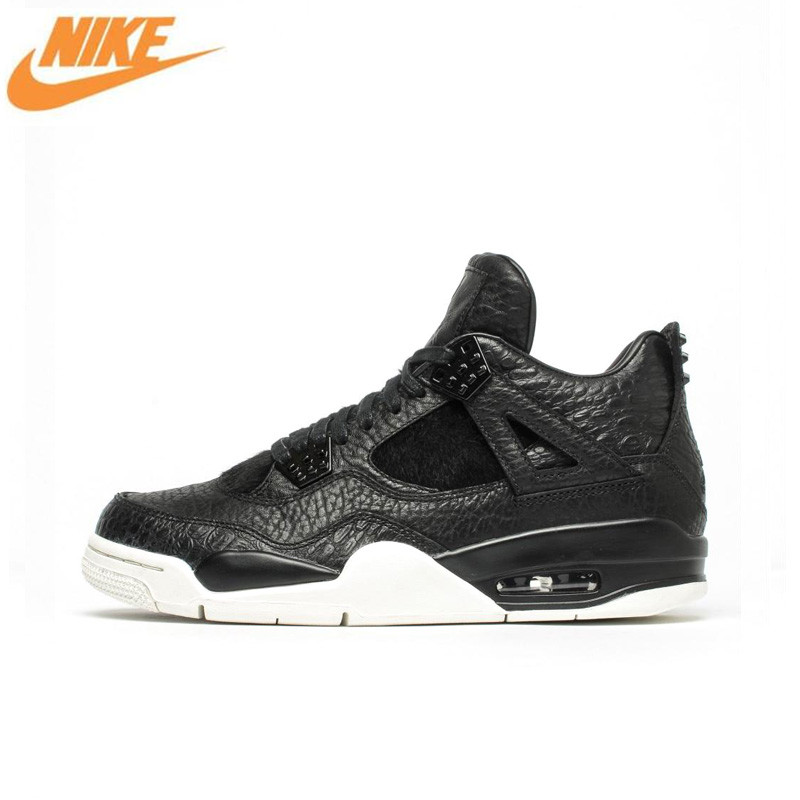 Nike Air Jordan 4 Laser AJ4 Breathable Men's Basketball Shoes,New Arrival Authentic Men Outdoor Sports Sneakers Shoes