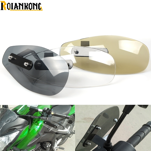 US $26 71 16% OFF|Motorcycle Accessories wind shield handle Brake lever  hand guard for Kawasaki ER 5 er6n GPZ500S/EX500R NINJA ZX6R ZX7R-in Covers  &