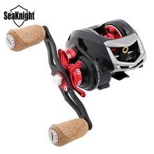 SeaKnight ELF II Baitcasting Fishing Reel 6.4:1/7.2:1 14BB 7.5KG Carbon Fiber 169g Ultra-light Fishing Wheel Dual Brake Systems