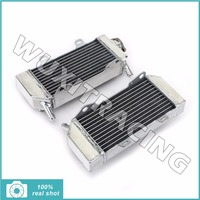 Aluminium Core MX Offroad Engine Radiator Cooler Cooling Fit For Honda CRF 250 R X CRF250R