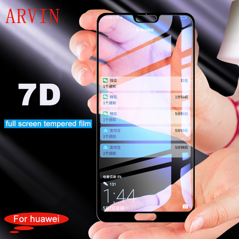 7D Full Screen Tempered Glass For Huawei Mate 20 Lite P20 Lite Pro Screen Protector Film For Huawei Mate 10 9 Pro Honor 10 Glass