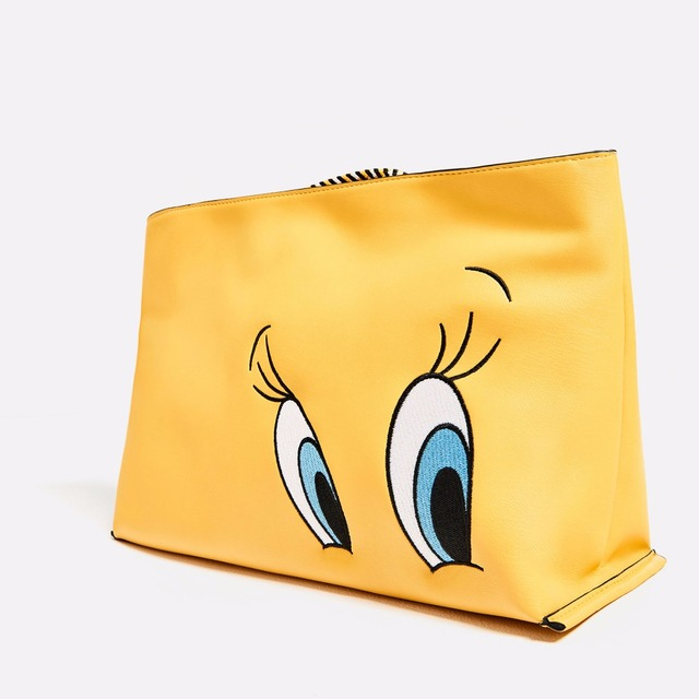 Women s Cartoon Clutch New Fashion Yellow Big Eyes Handbags Leather Totes  Wallet Purse Bags Crossbody Handbags