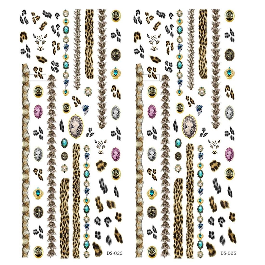 TOP Qualität DIY Designer Wasserzeichen Nagel aufkleber abziehbilder ...