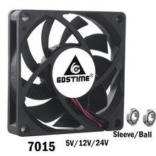 2 шт gdstime 7 см 70 мм 7015 dc 5 в 12 В 24 контакта провода