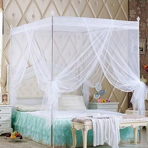 Romantic Princess Lace Canopy Mosquito Net No Frame for Twin Full Queen King Bed Mosquito