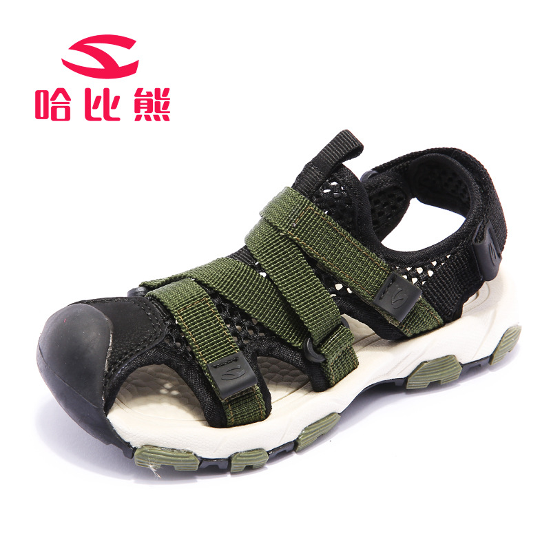 Boy Sandals Kids Outdoor Shoes 2018 Girls Summer Shoes Beach Sandals Breathable Cover Toe Boys Shoes Children Sandals for Girls