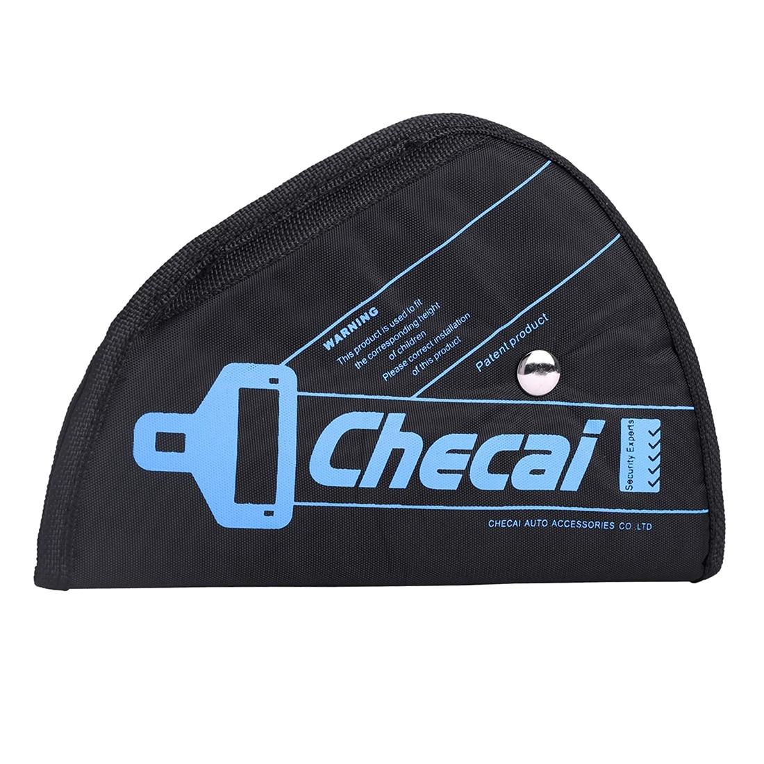 CHECAI Child Kids Baby Adjustment Auto Car Belt Adjuster Safety Seat Belt Positioner Black/blue/pink